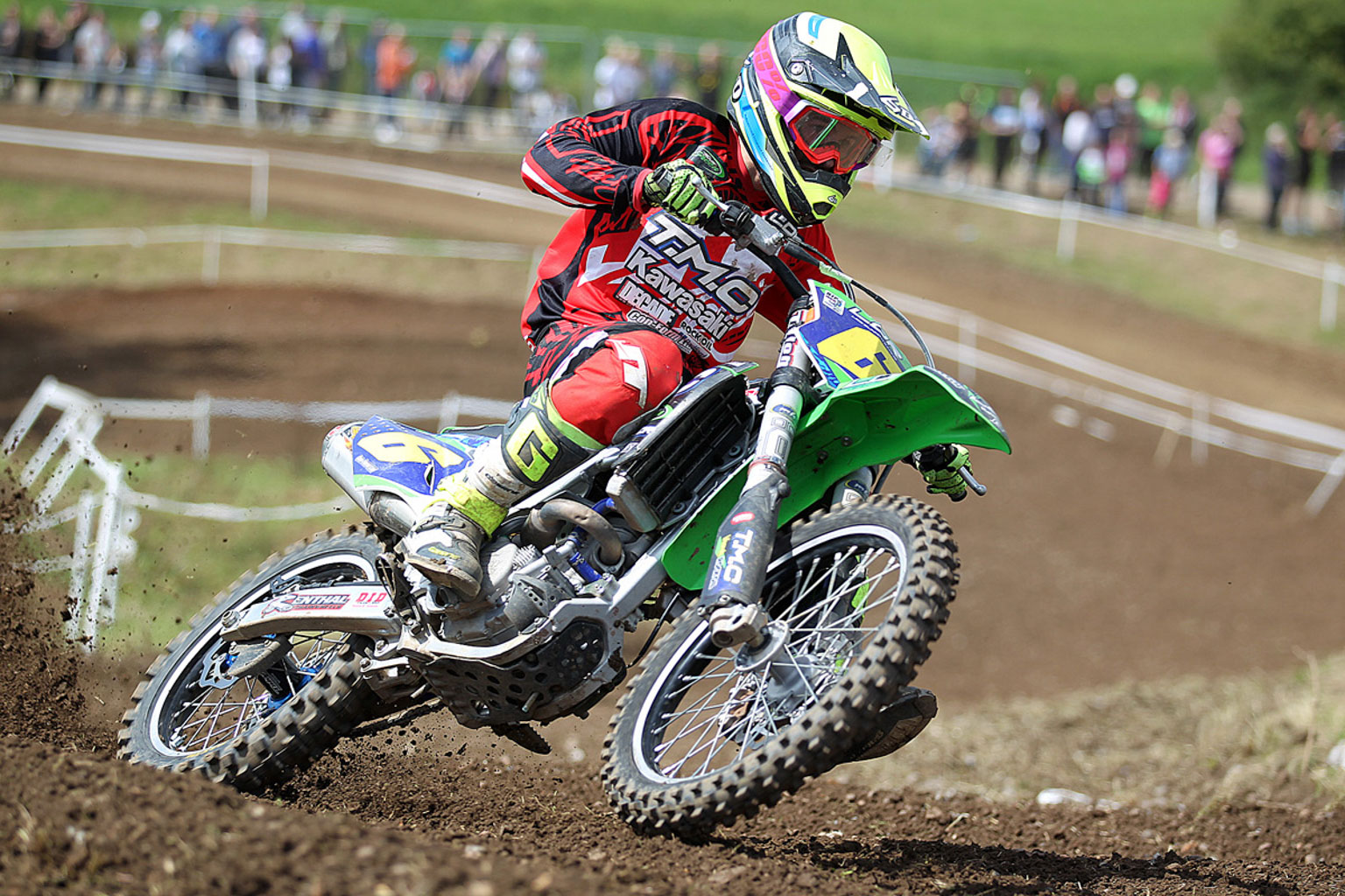 Jansen Day, 2nd in the Adult A MX2 class