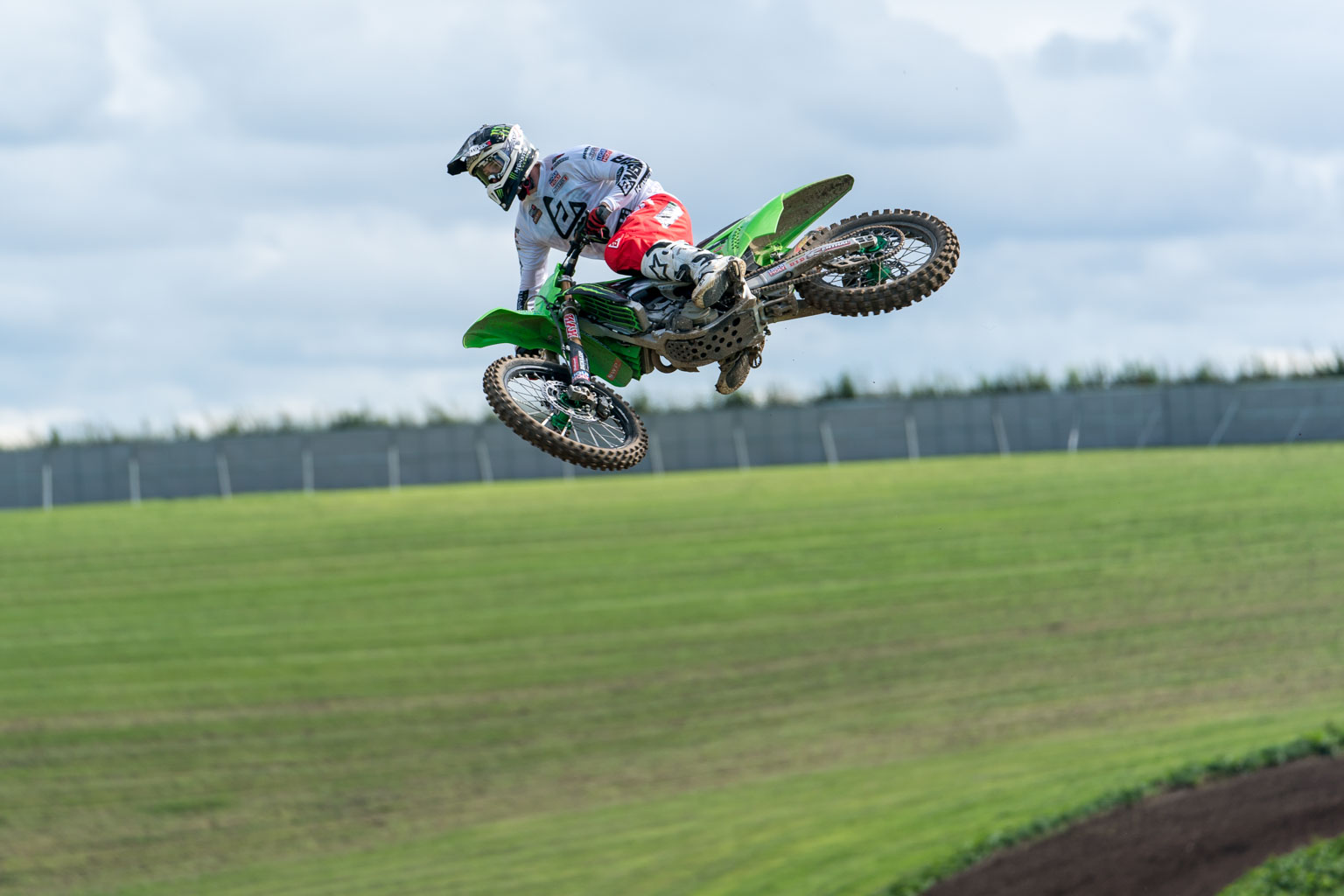 Searle back on the 250 he loves