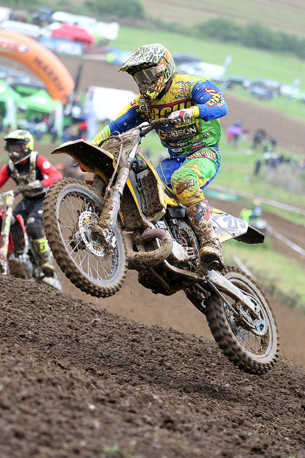 Adam Harris, 5th in MX1