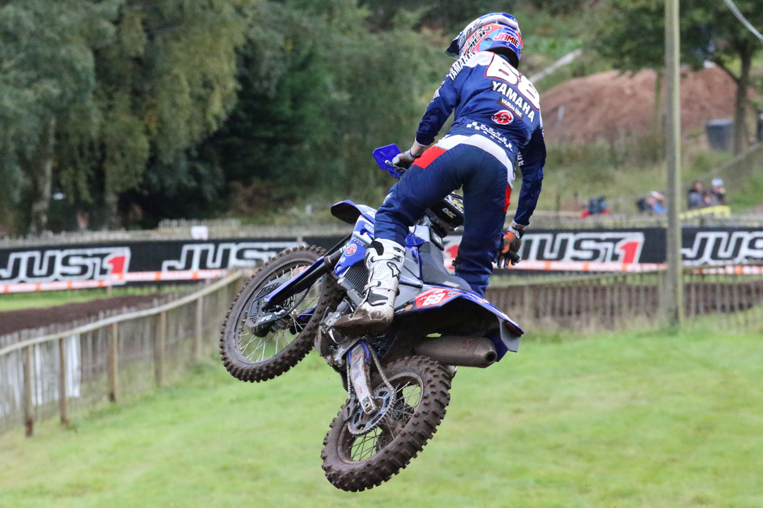 Jamie McCanney gave the home crowd a hero to cheer for in Enduro2