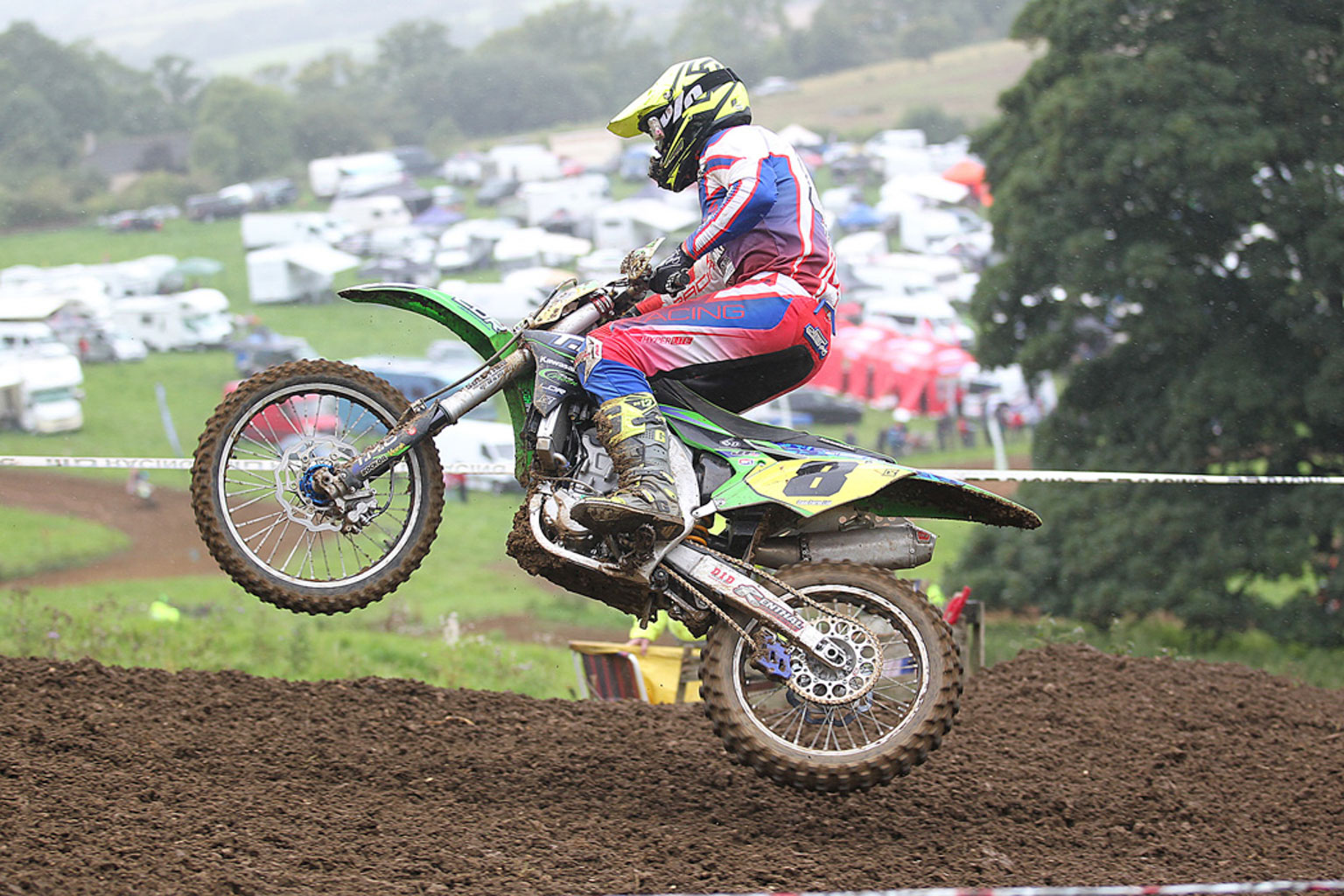 Matt Ridgway, 6th in MX1