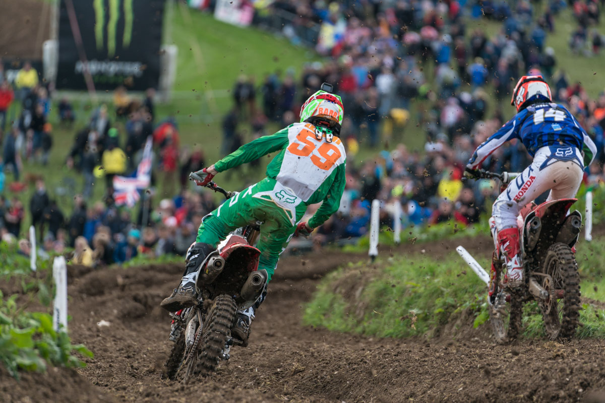 Martin Barr was looking fast against tough rivals