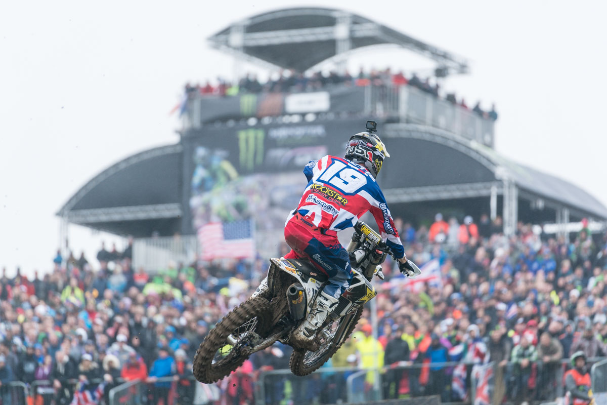 Plenty of support for team GB and Max Anstie