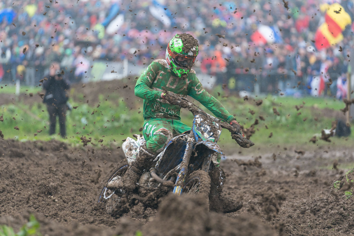 Team Ireland slogged through the mud for 15th