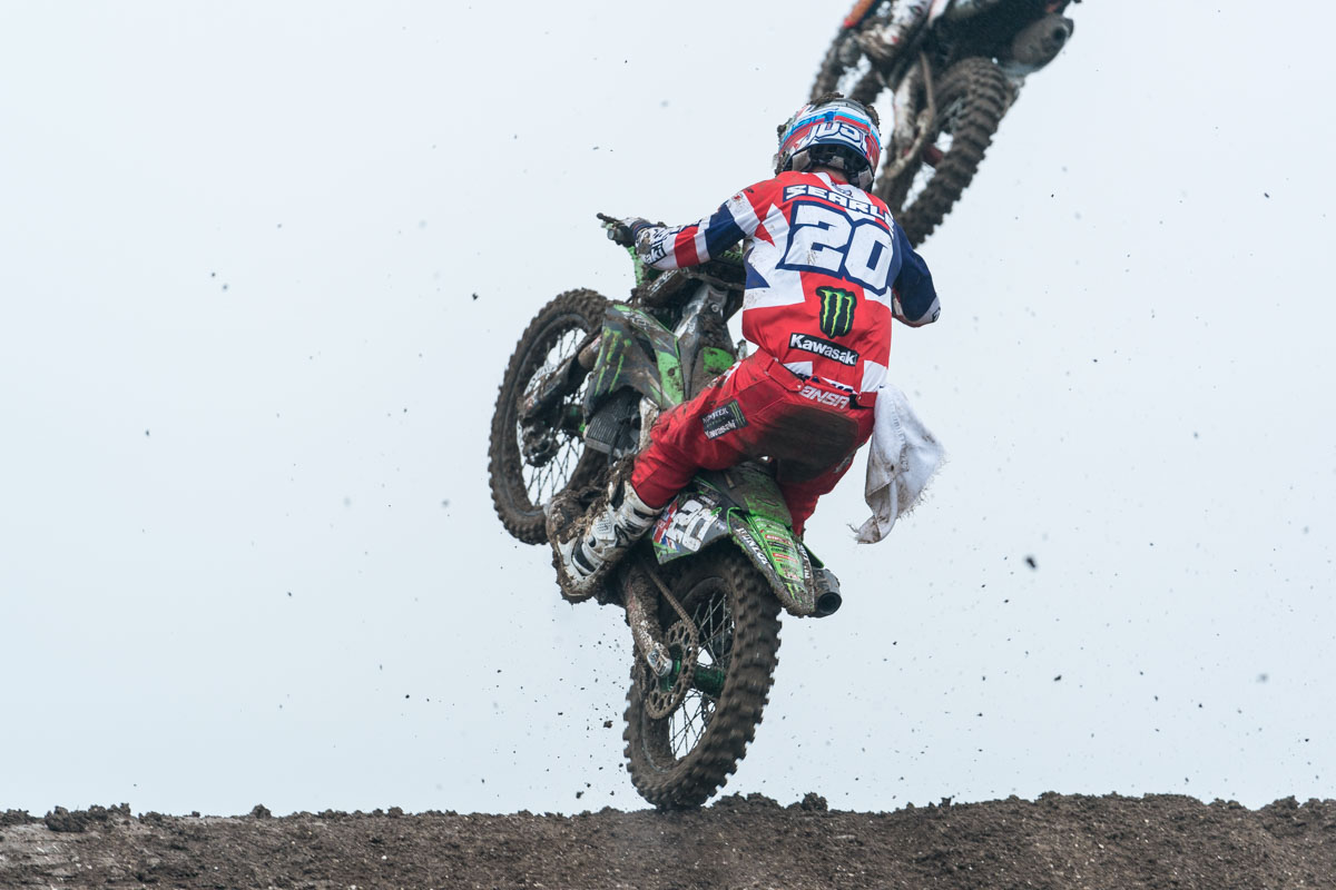 Searle pushed the KXF hard
