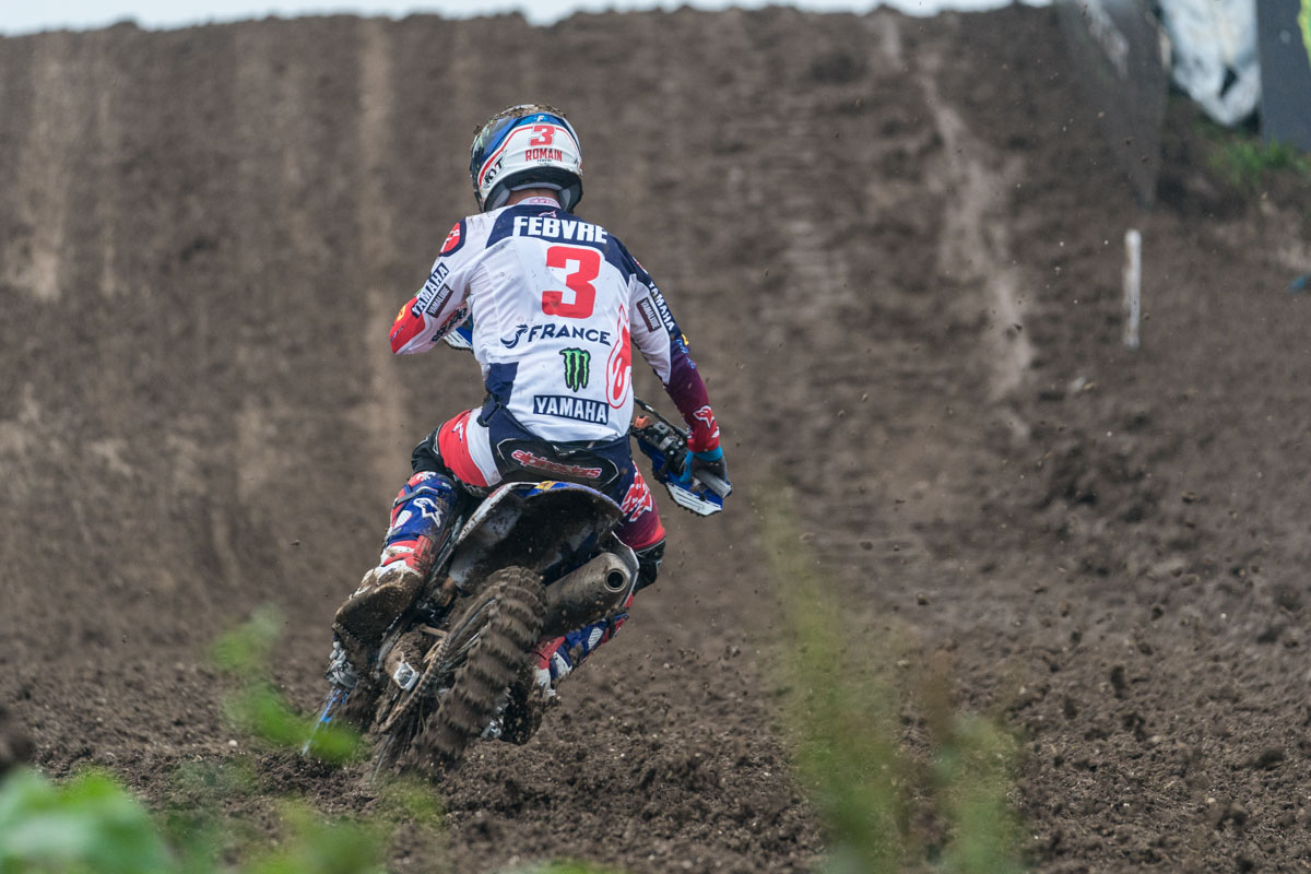 Febvre helped team France to another win