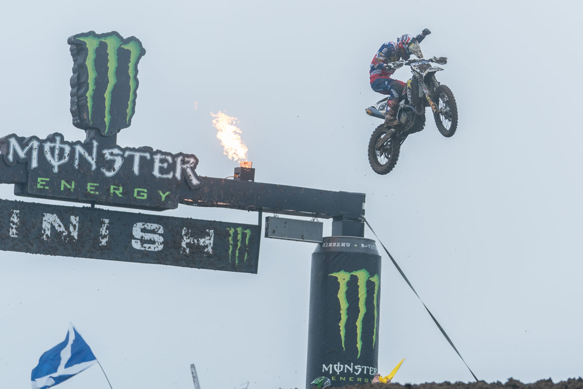 Anstie takes the race two win!