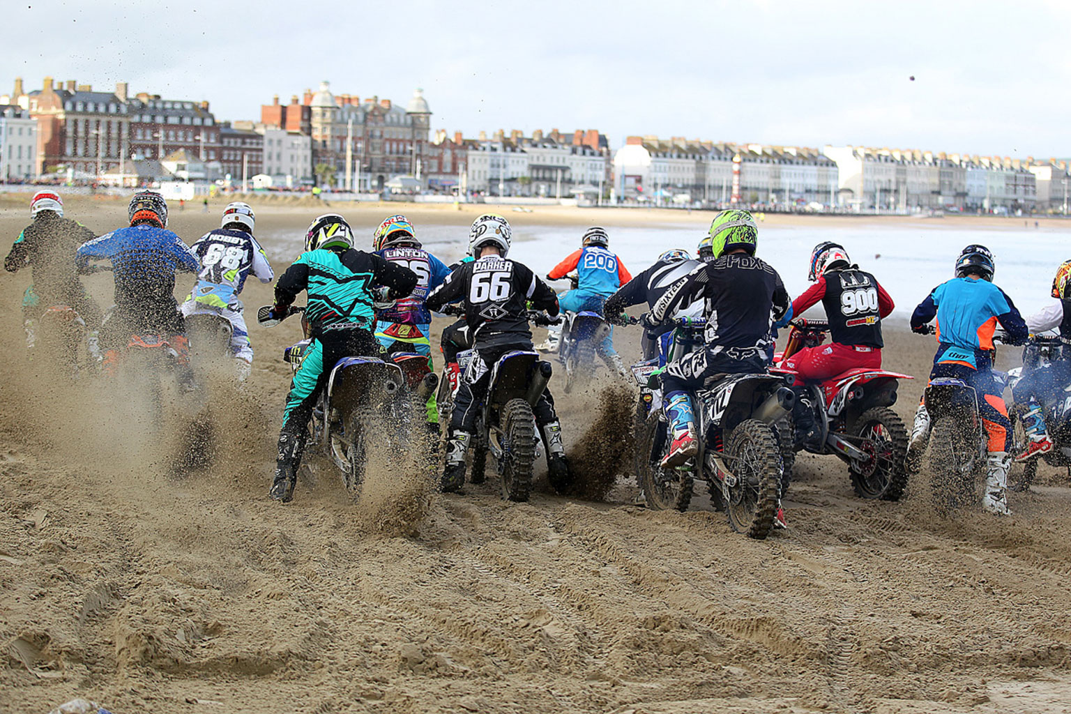Blast off for the Experts in moto two