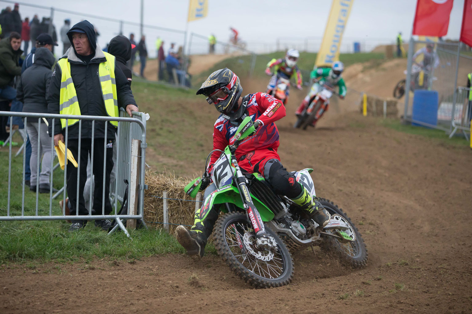 Liam Knight is riding well