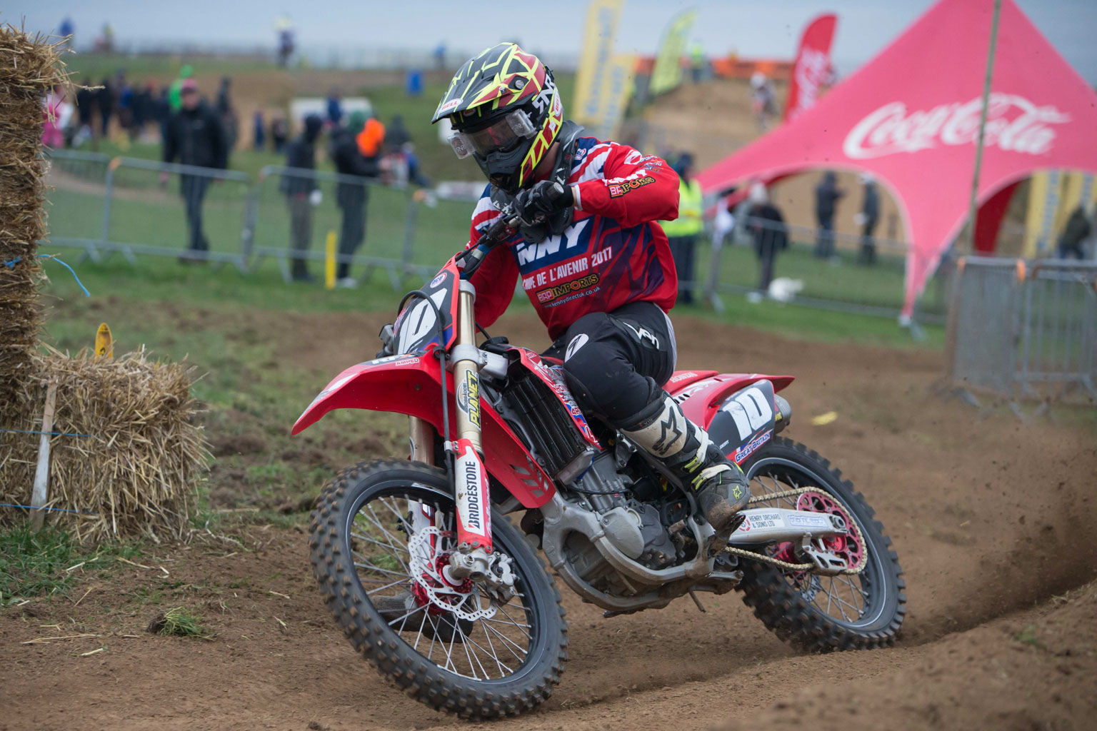 Josh Gilbert is fast on the CRF
