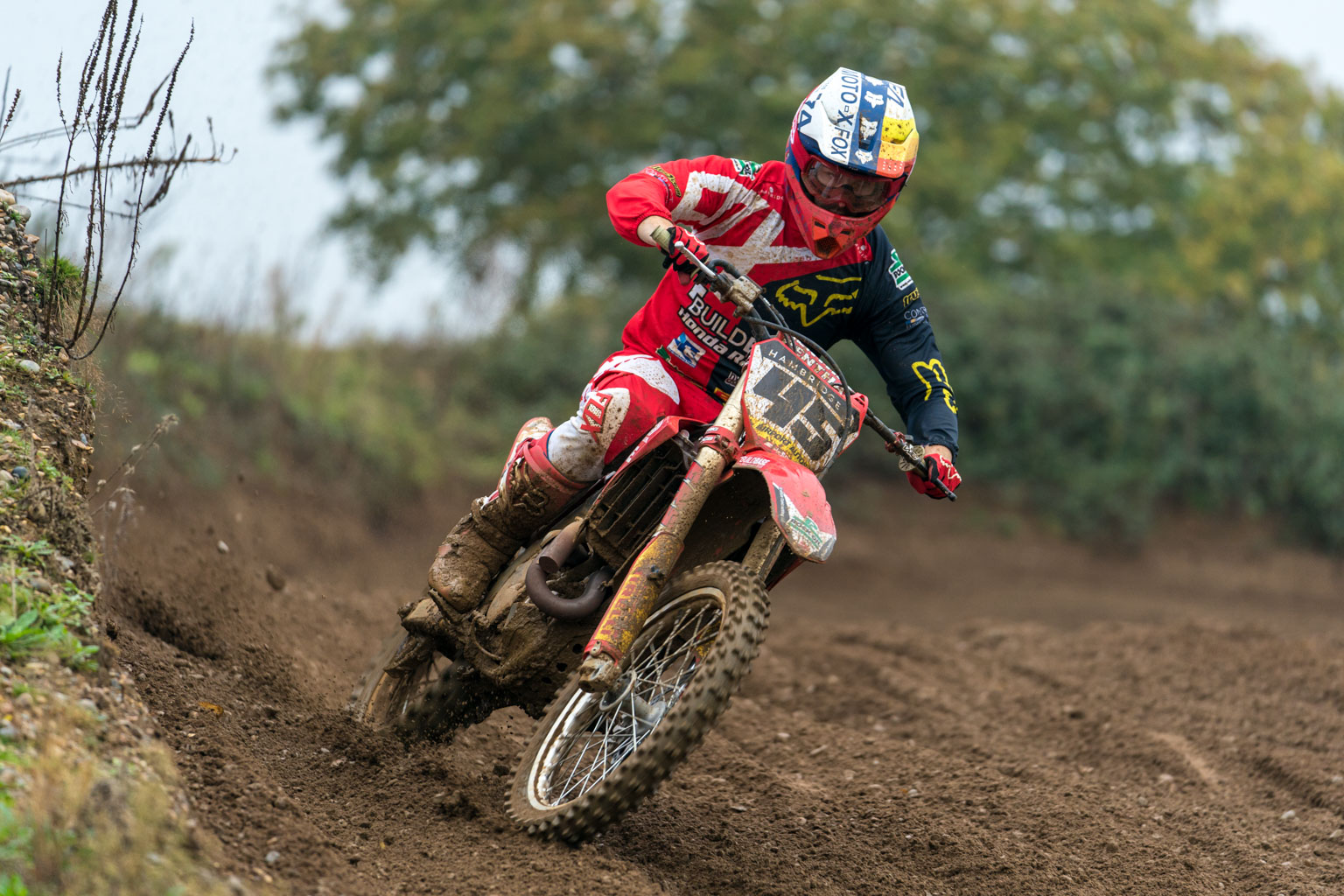 Nicholls says the CRF450 feels very narrow after years on KTM and Husqvarnas