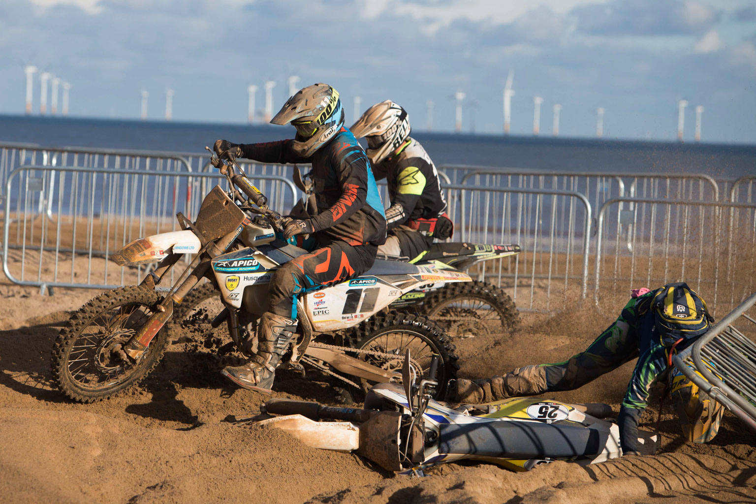 Matt Burrows (Husqvarna) and Alex Owen (Husqvarna)