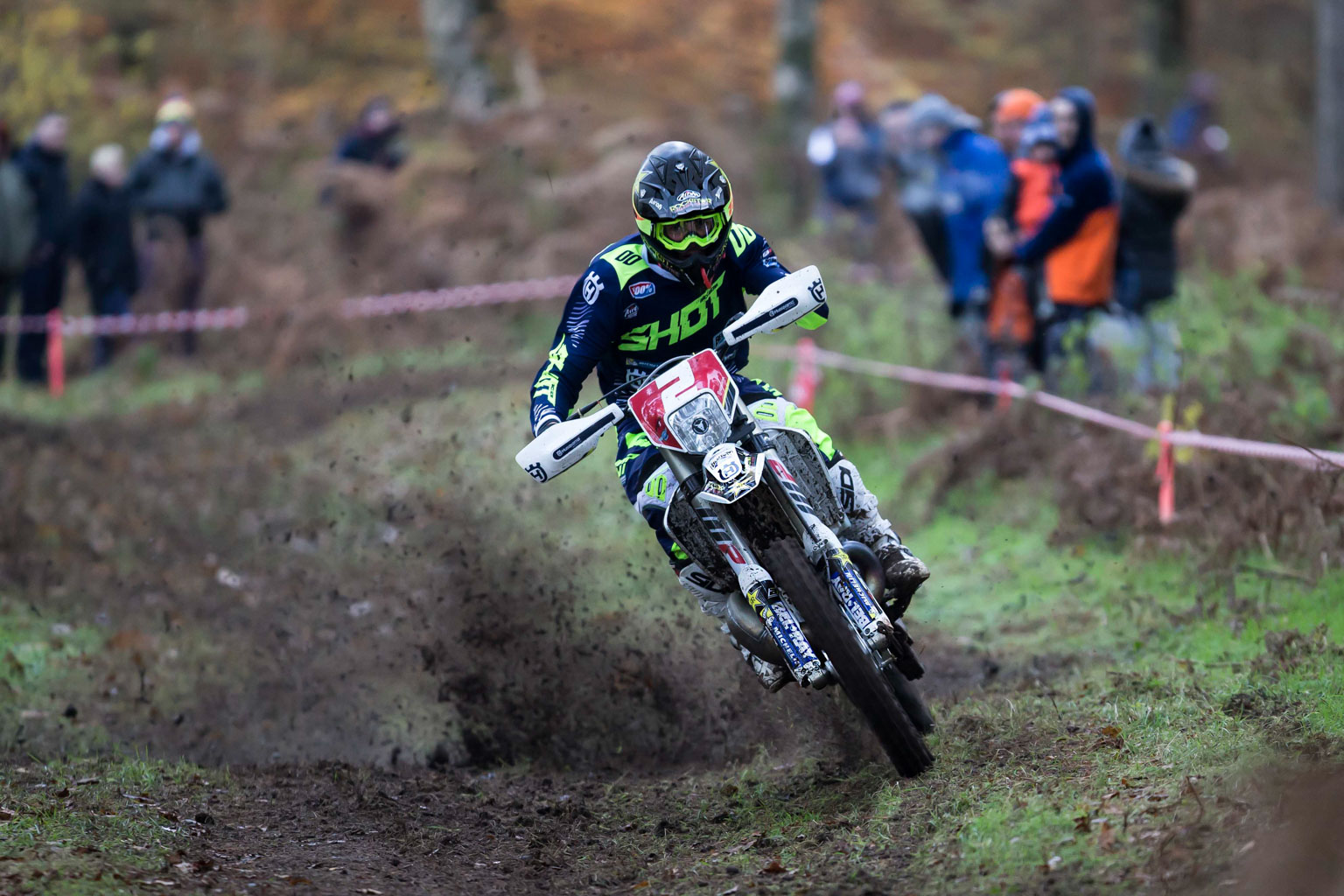 All action from winner Daniel McCanney (Rockstar Husqvarna)