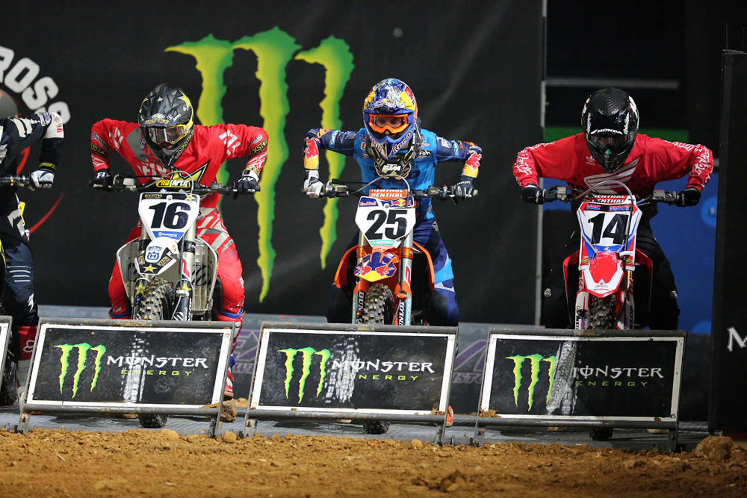 Osborne, Musquin and Seely ready for the off