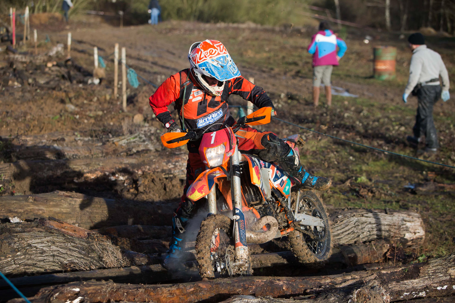 Stevie Roper was fourth in the pro class