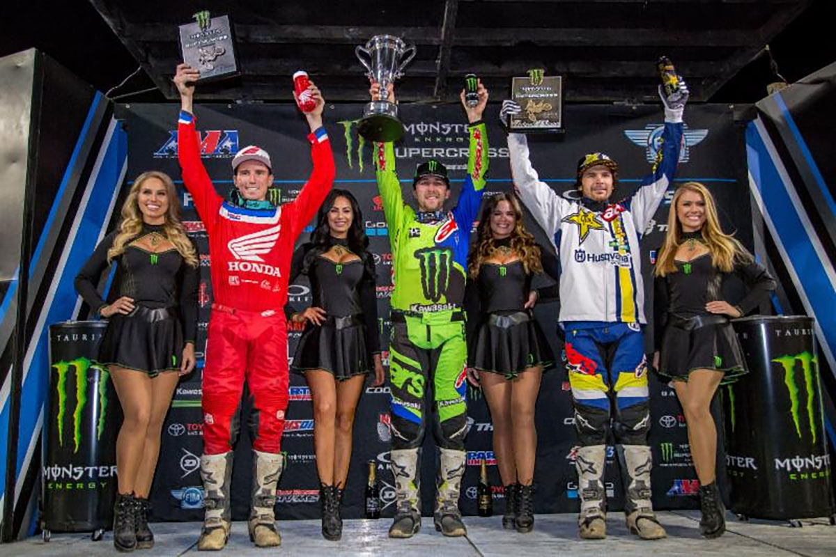 Tomac on top for the first time in 2018
