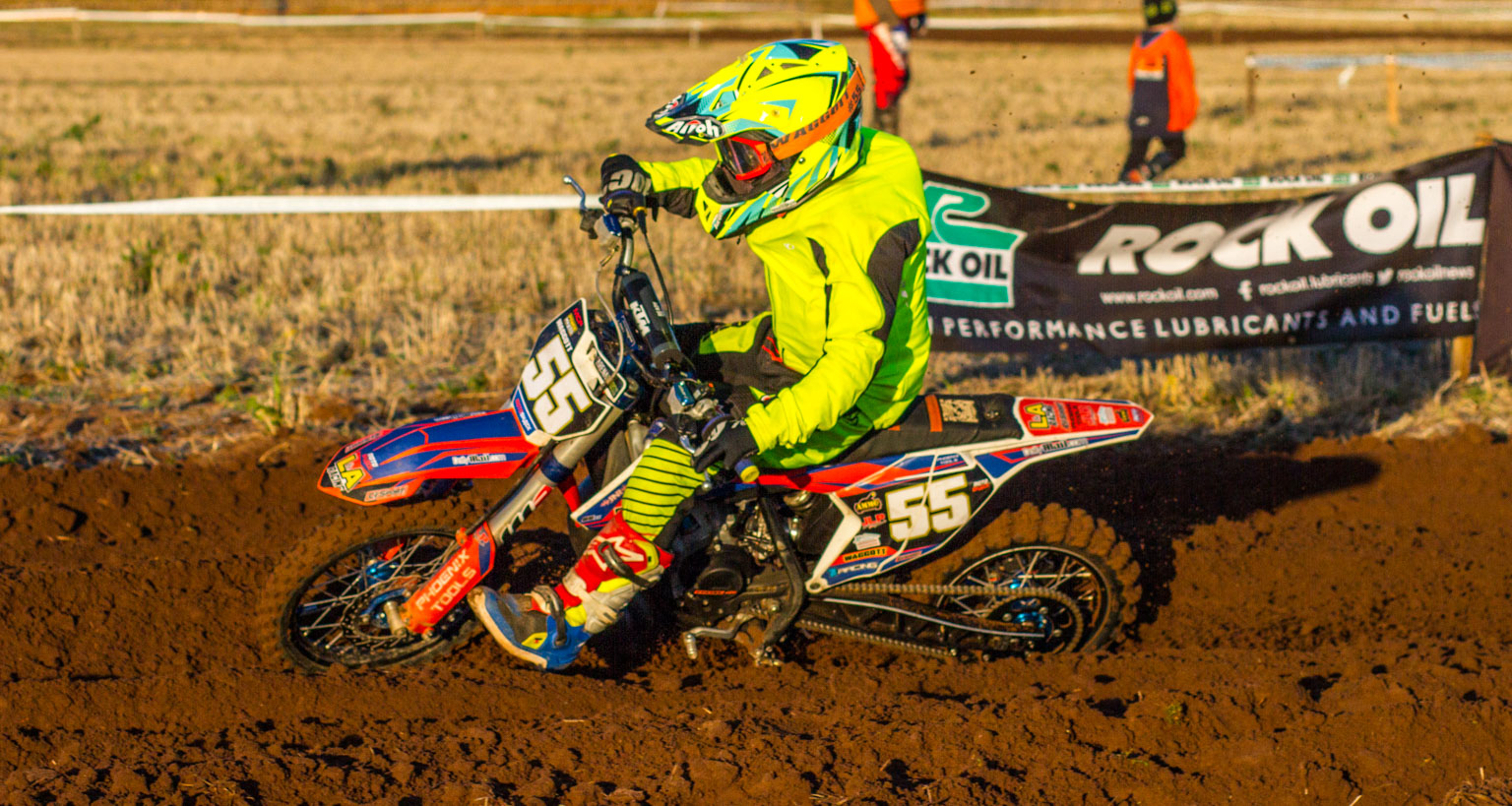 Ryan Waggott dominated the 65cc class at the Scottish Championship in Dunbar