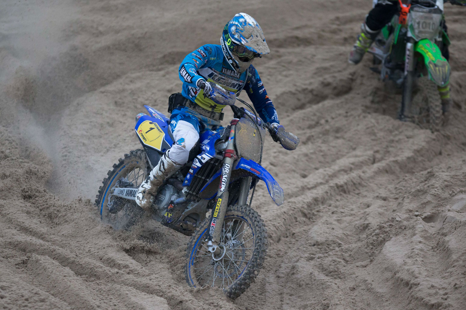 Daymond Martens (Yamaha) was fourth