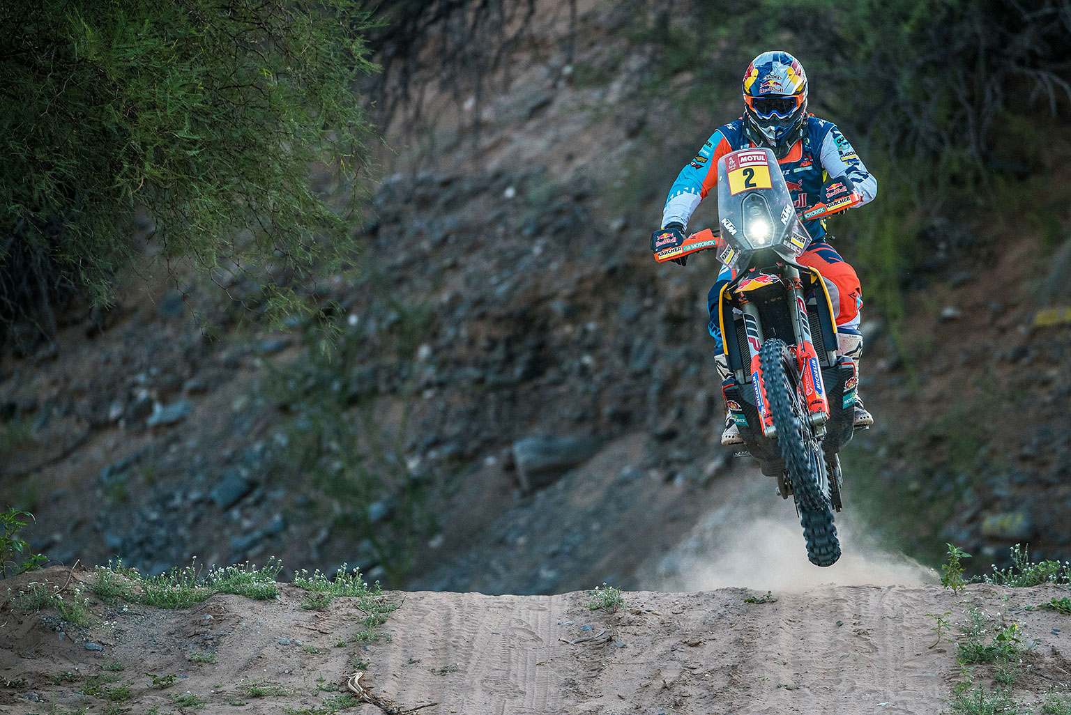 Walkner took his first Dakar win