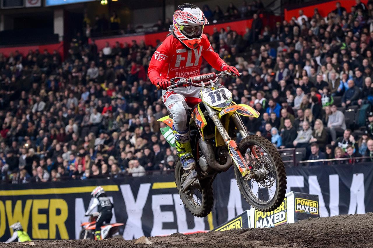 Newcastle's Buster Hart took a strong second at Manchester and is aiming for AX glory at Newcastle