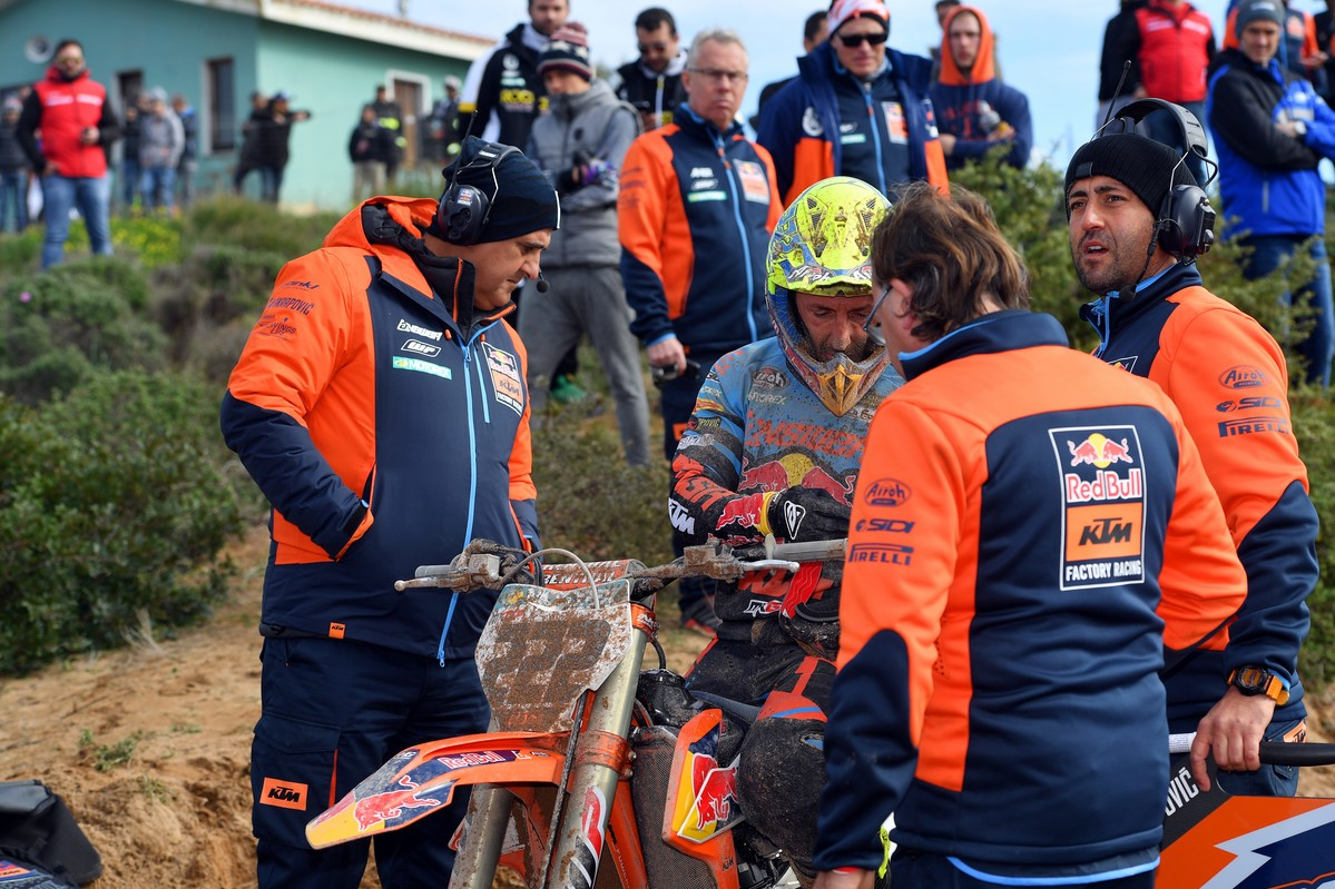 Cairoli was masterful on the track he uses to train on