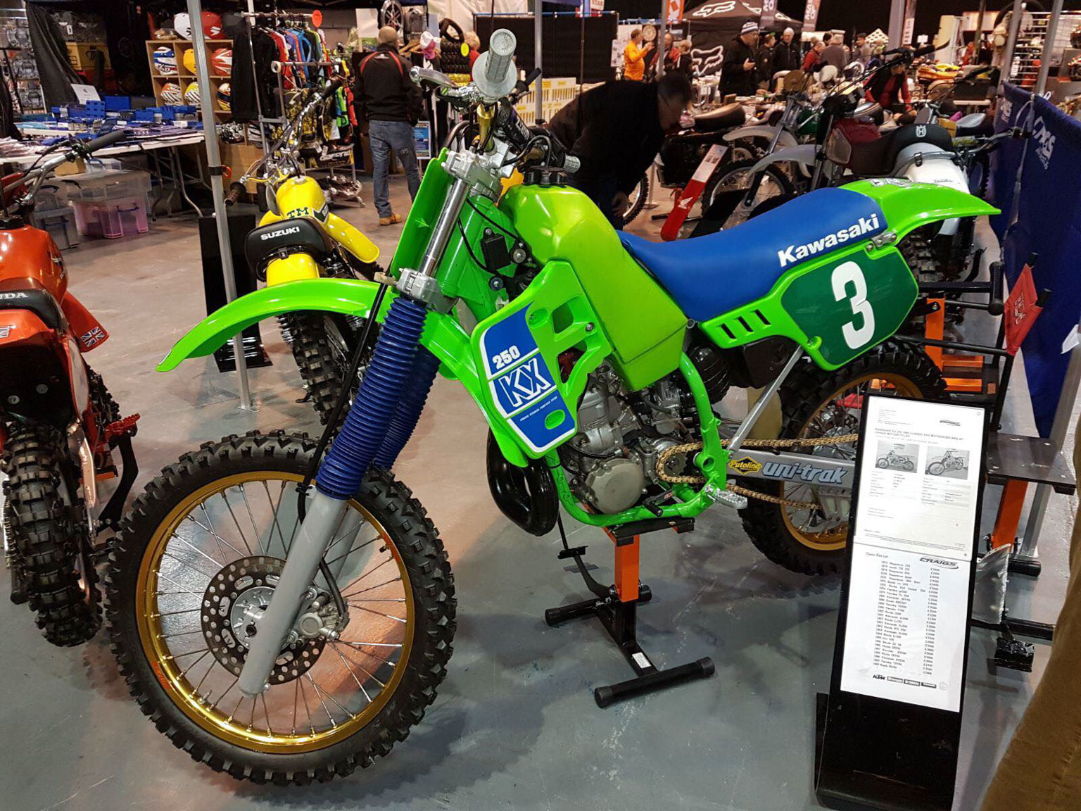 The immaculate KX was one of the stars!