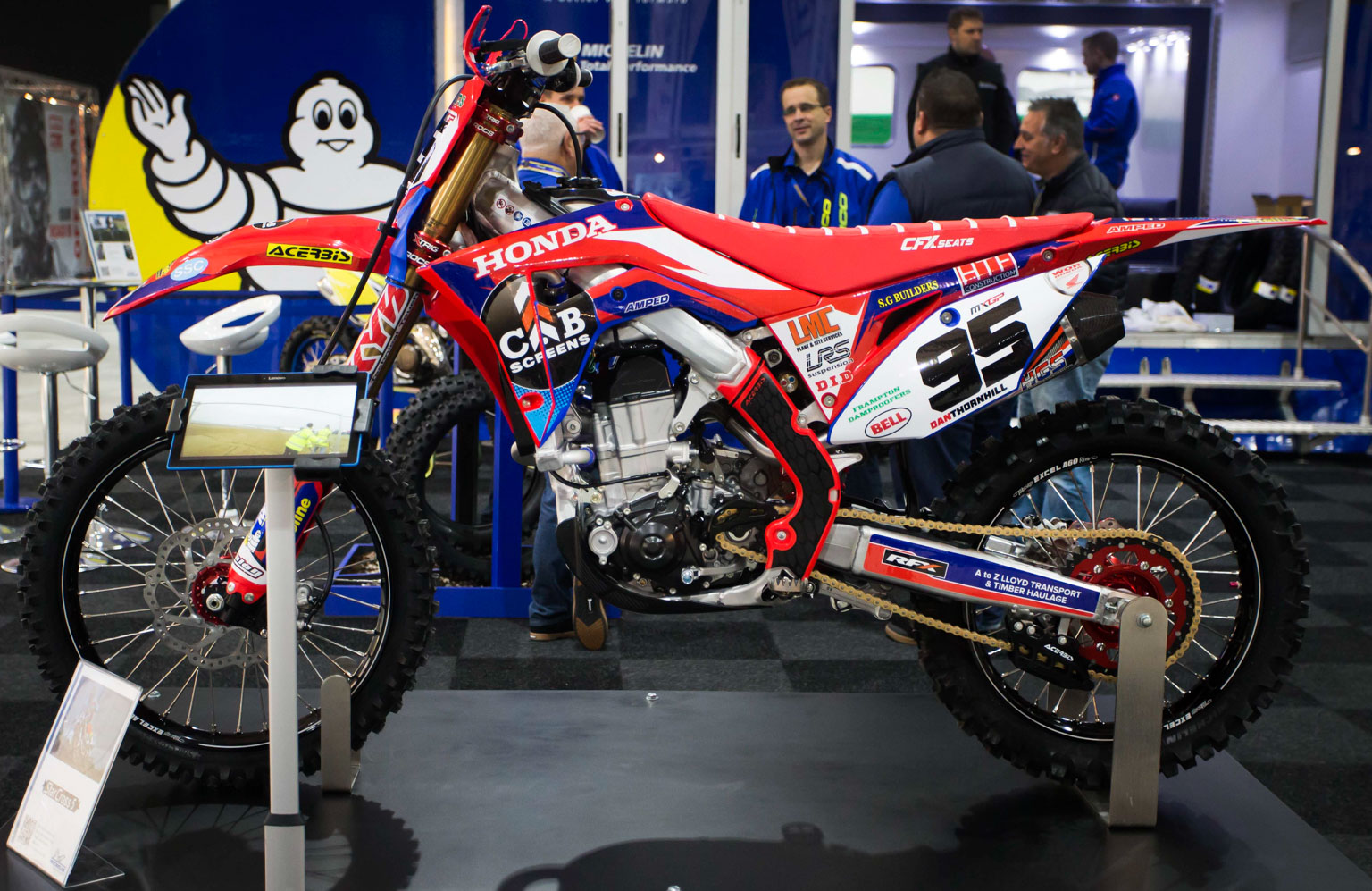 No race outing yet for the team's CRF450s