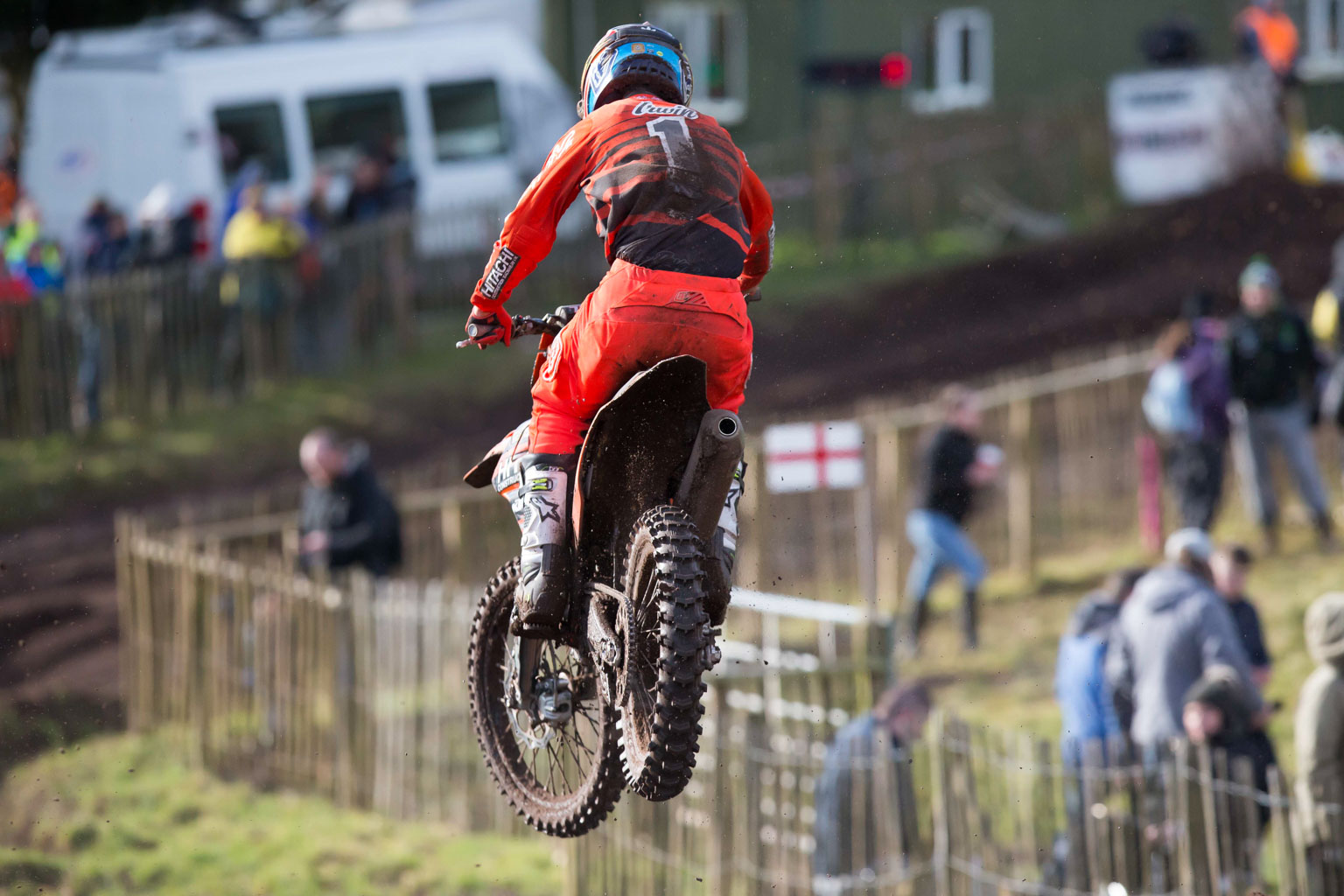 British champ Graeme Irwin had a great debut on the KTM