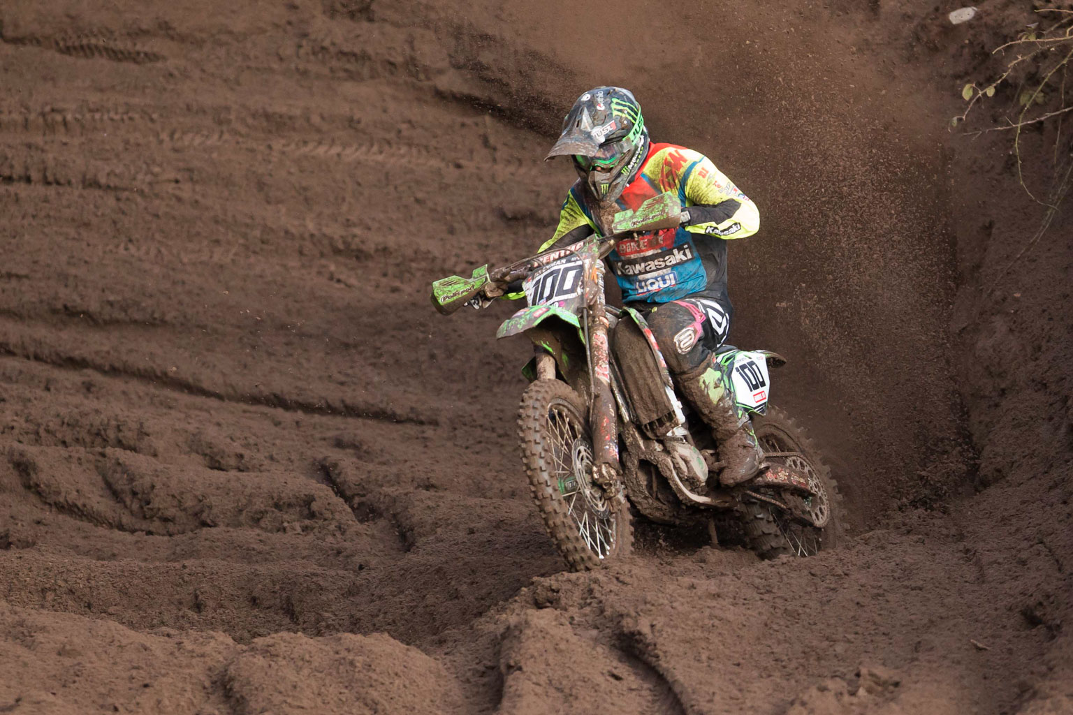 Tommy Searle is looking fit and fast, and got stronger as the event went on