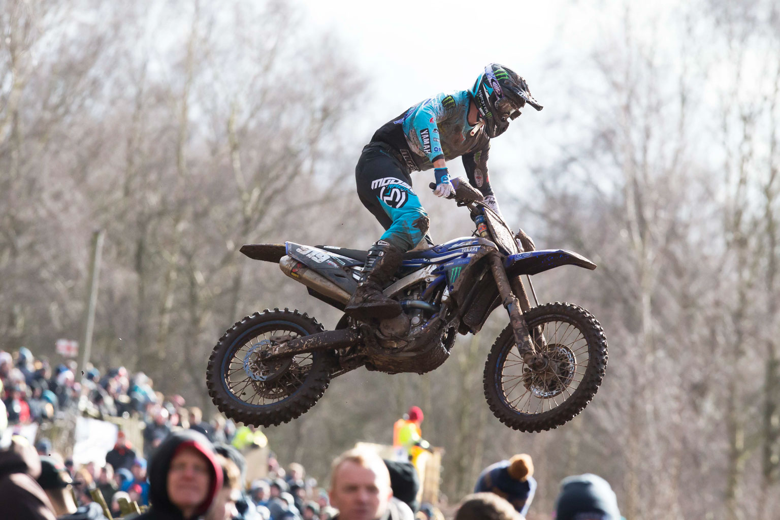 Ben Watson is looking at home on his new Yamaha