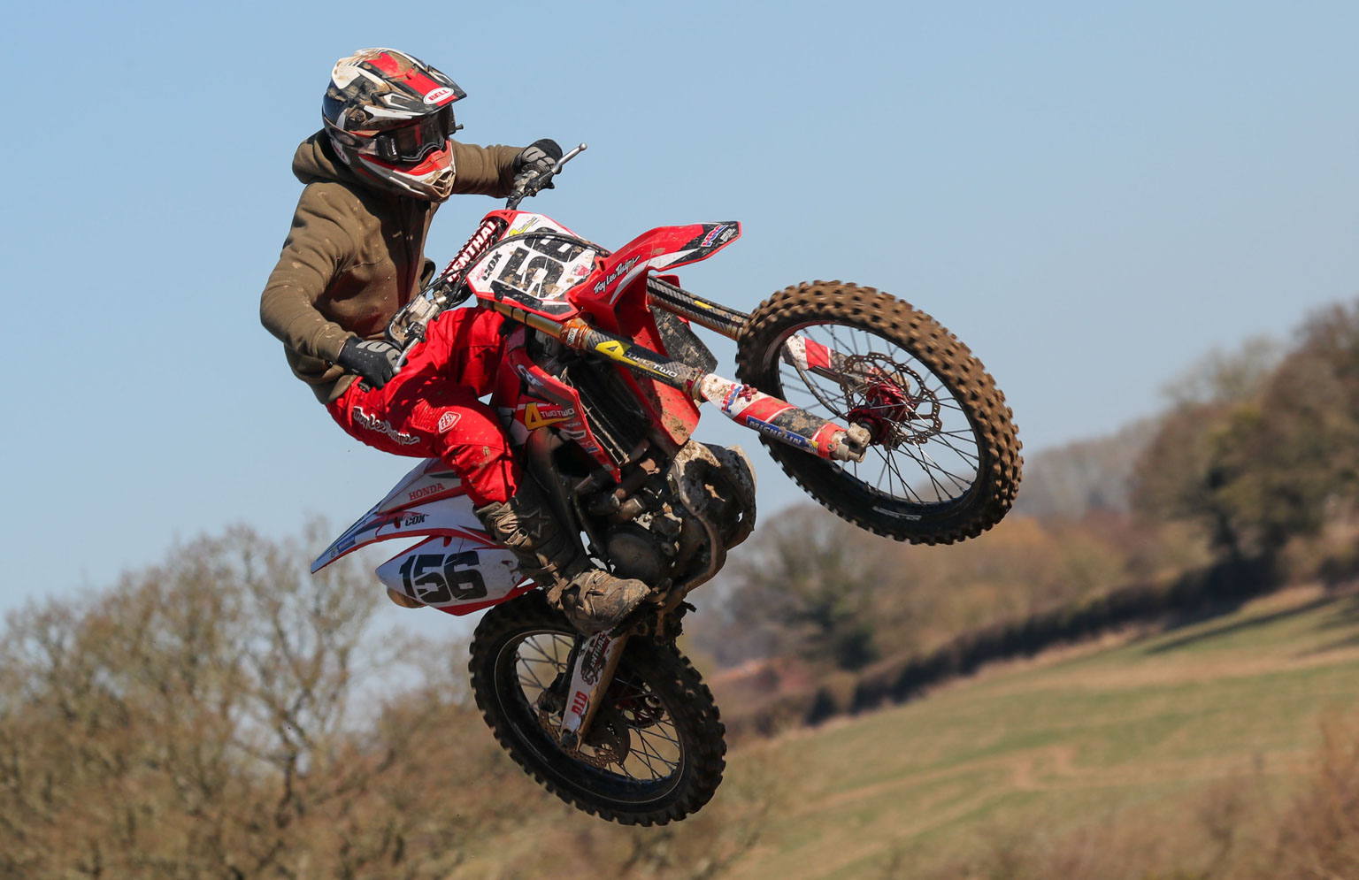 Alfie Cox took his Honda to third