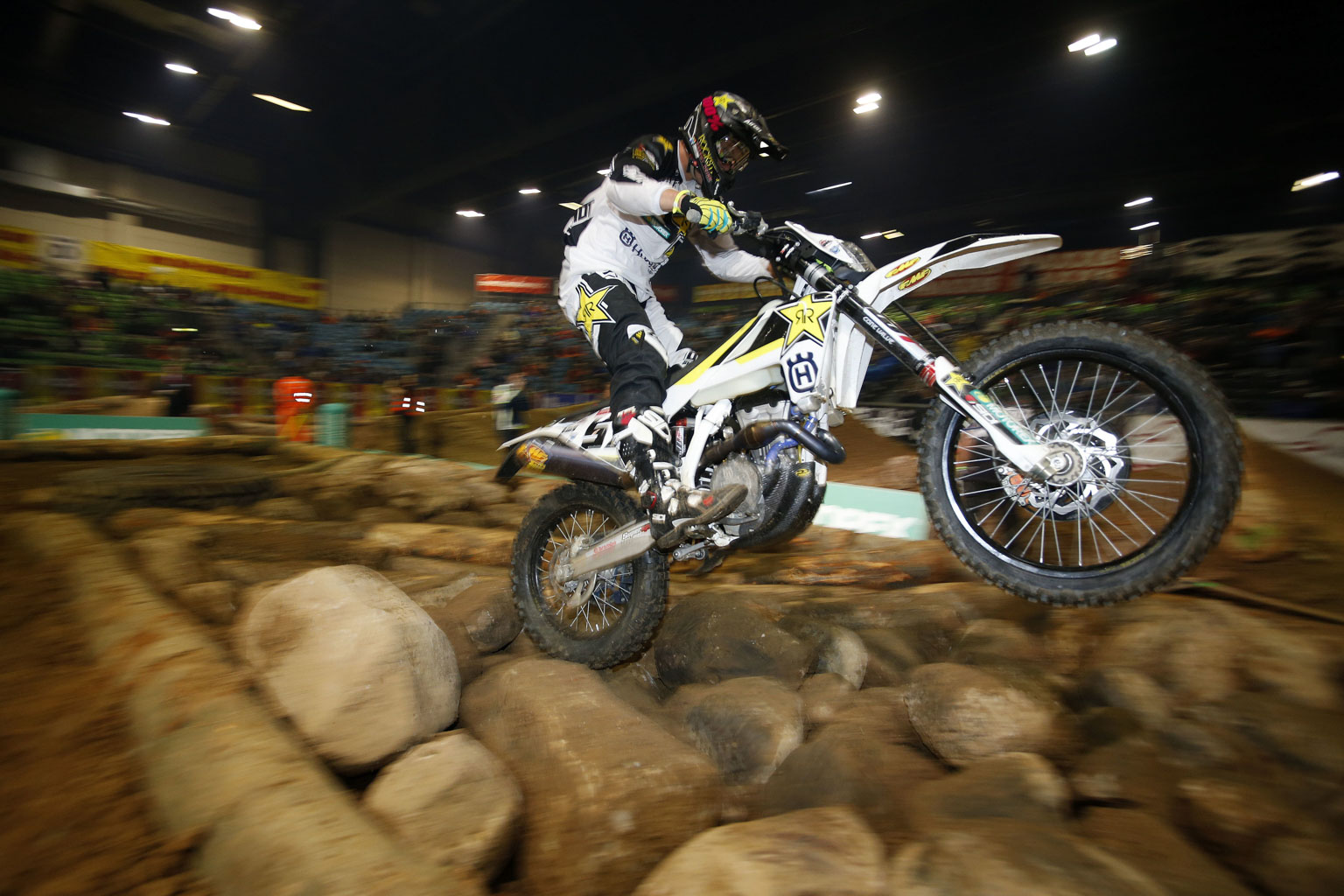 Bolt is ace at SuperEnduro