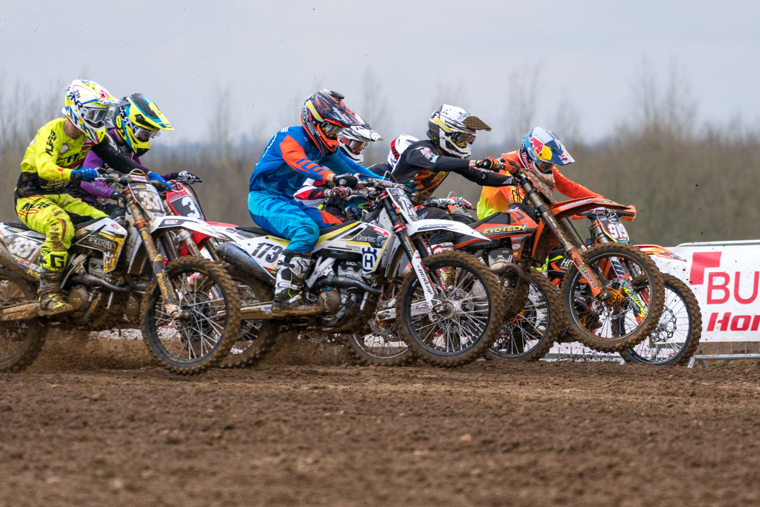 It's blast off for the start of the 2018 Maxxis British championship