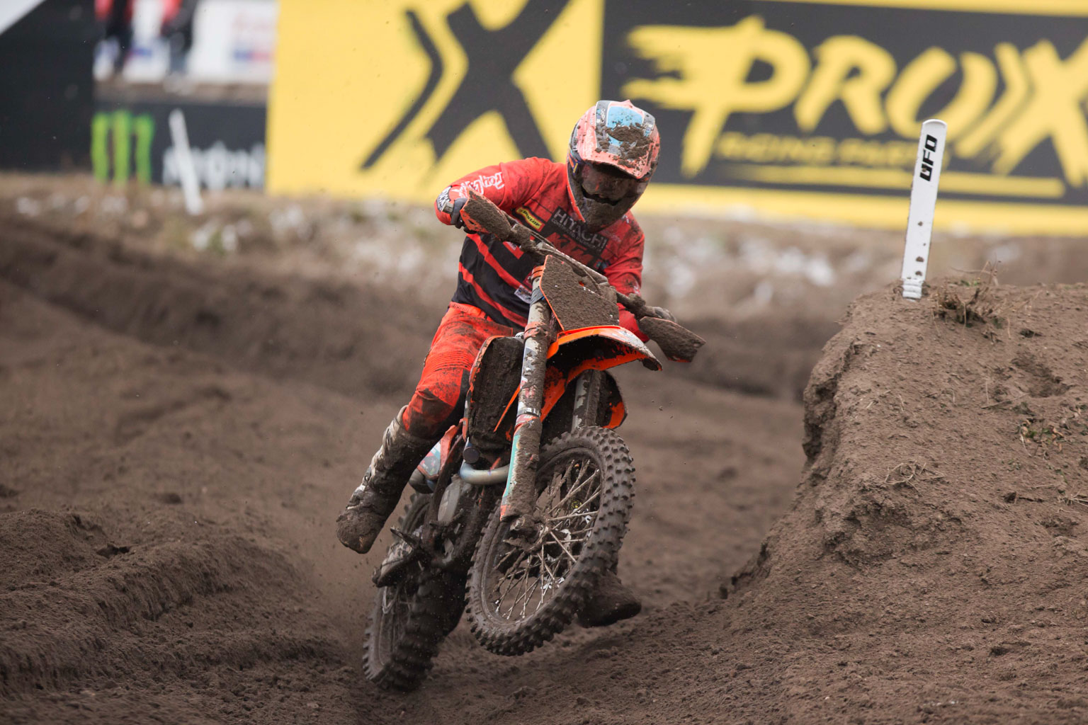 British champ Irwin took a 19th place for two world championship points