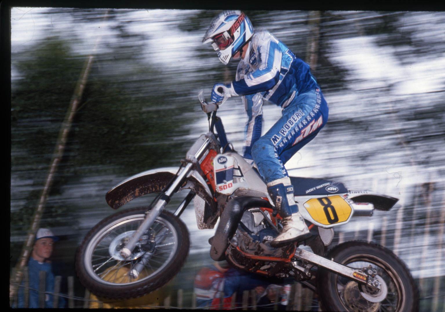 Martens at Hawkstone at the end of the 1980s