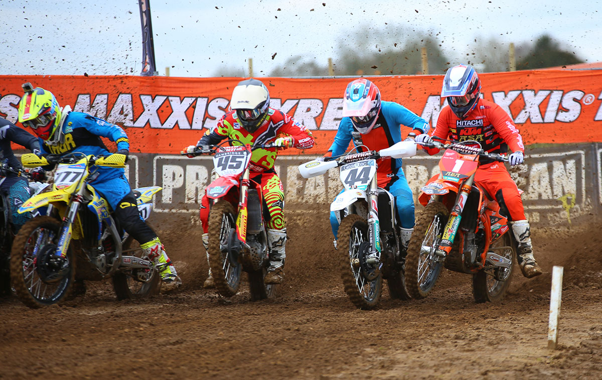 Irwin, Banks-Browne, Nicholls and Bobryshev blast off at Culham.